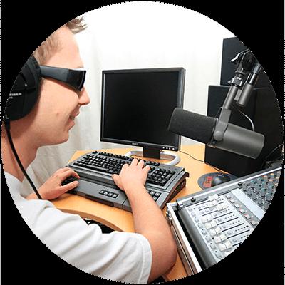 tekniska hjälpmedel för synskadade